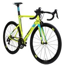 JAVA FUOCO Aluminium & carbon Road Bike 700C Aero Racing Bicycle 22 Speed with 105 5800 Derailleur Shifter Tek tro Brake