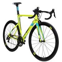 Java Fuoco алюминия и дороги углерода велосипед 700C Aero гоночный велосипед 22 скорость с 105 5800 переключатель shifter ТЭК tro тормоз