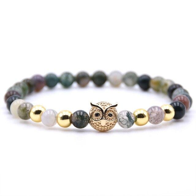 f573f07f3e Summer Style Sea Turtle Beads Bracelets for Women Men Classic 8MM Natural  Stone Elastic Friendship Bracelet