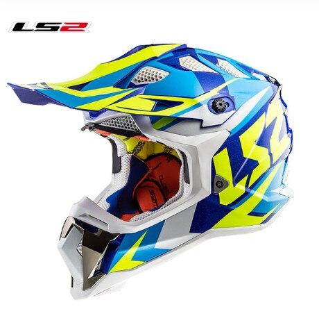 Ls2 mx470 subverter capacetes de motocross ágil atv bicicleta da sujeira corrida enduro casco capacete fora da estrada esporte ls2 motocicleta capacete