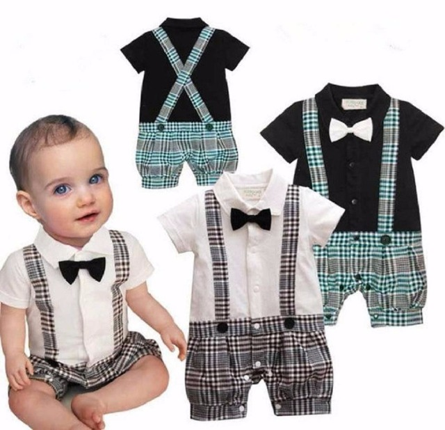 1PC Toddler Baby Newborn Boys Boy Infant Party Wedding Suits ...