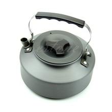 1.1L Tragbare Outdoor Camping Überleben Kaffee Topf Wasserkocher Teekanne Aluminium HXP001