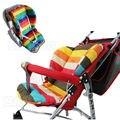 Водонепроницаемые подушки детских колясок Подушка коляска Pad заполнение лайнера  Сиденья радуга из целого хлопка Толстой коврик