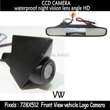 Высокого разрешения вид спереди видеоняни + ccd-ccd вид спереди камеры для volkswagen VW GOLF нью-бора Jetta Touareg Passat Lavida поло Tiguan