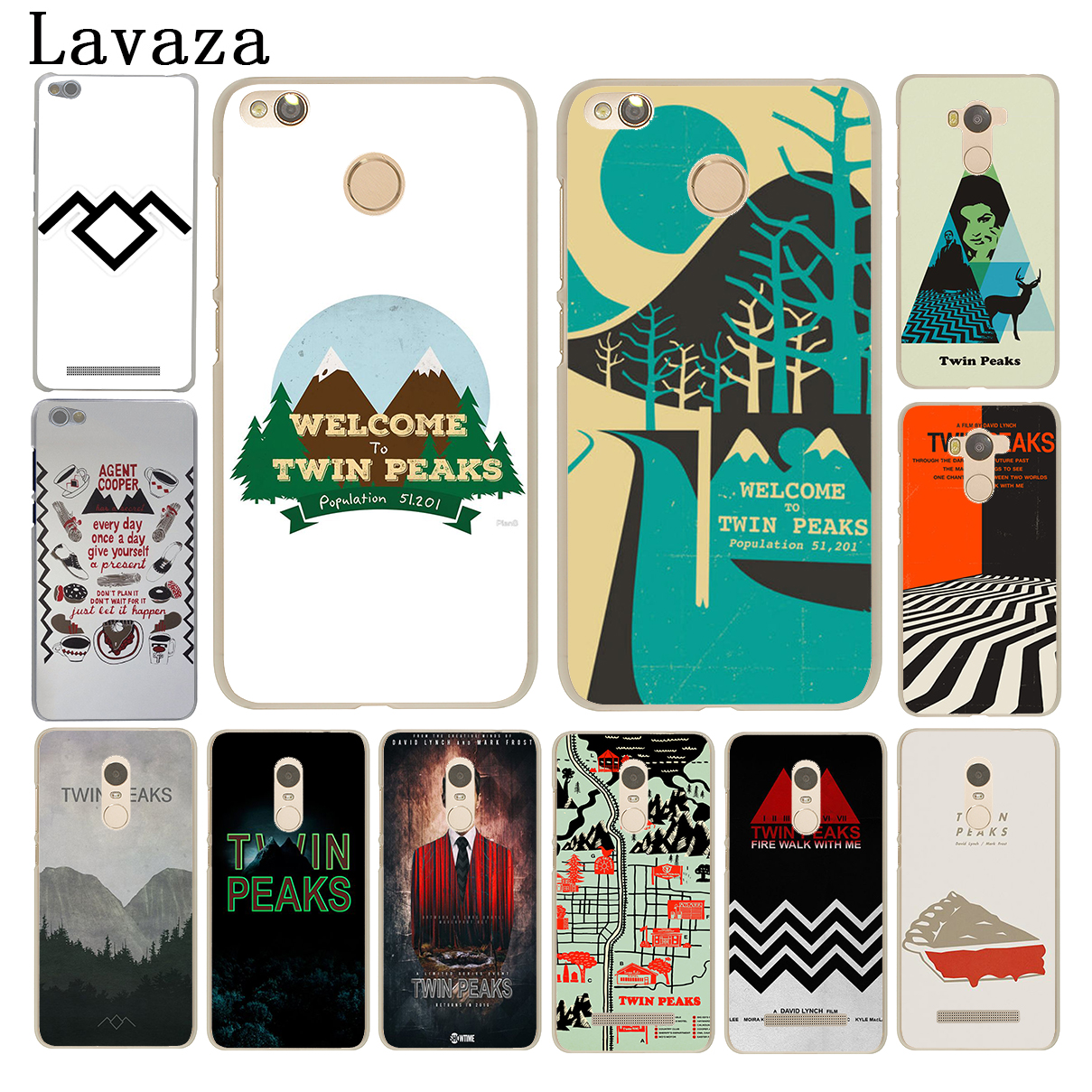 Lavaza Welcome To Twin Peaks Phone Case for Xiaomi Mi 8 SE A1 6 5 5S 5X Mi8 MiA1 Mi6 Redmi Note 4X 4A 4 Pro 5 Plus 5A Prime