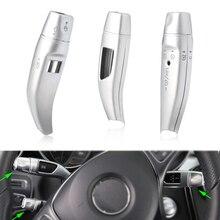 3 шт./компл. хром стеклоочистителя Рычаг переключения круиз пайетки охватывает кадр Набор наклеек для Mercedes Benz GLC C/E класса W205 W213 стайлинга автомобилей
