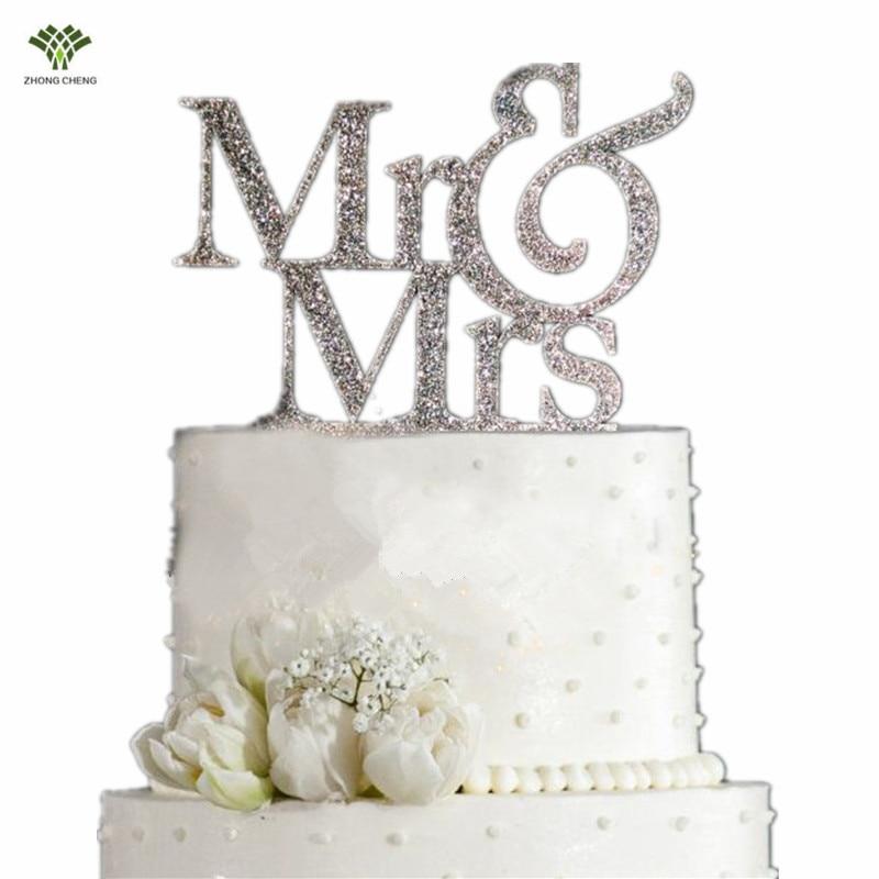 Cake Decorating Store Greensborough : 10PCS Mr&Mrs cake topper wedding cake picks flag Paper ...