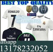NEW 2018 2019 REAL MADRID jersey 18 19 AWAY football camisetas RONALDO BALE  BENZEMA Thai AAA FOOTBALL shirt Soccer jersey 985becc6b