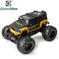 GizmoVine RC Car RC Dirt Bike 2.4Ghz 4WD 1/16 4 Wheel Drive Rock Crawler Rally Car 4x4 Motors Bigfoot car Off-Road Vehicle Toys