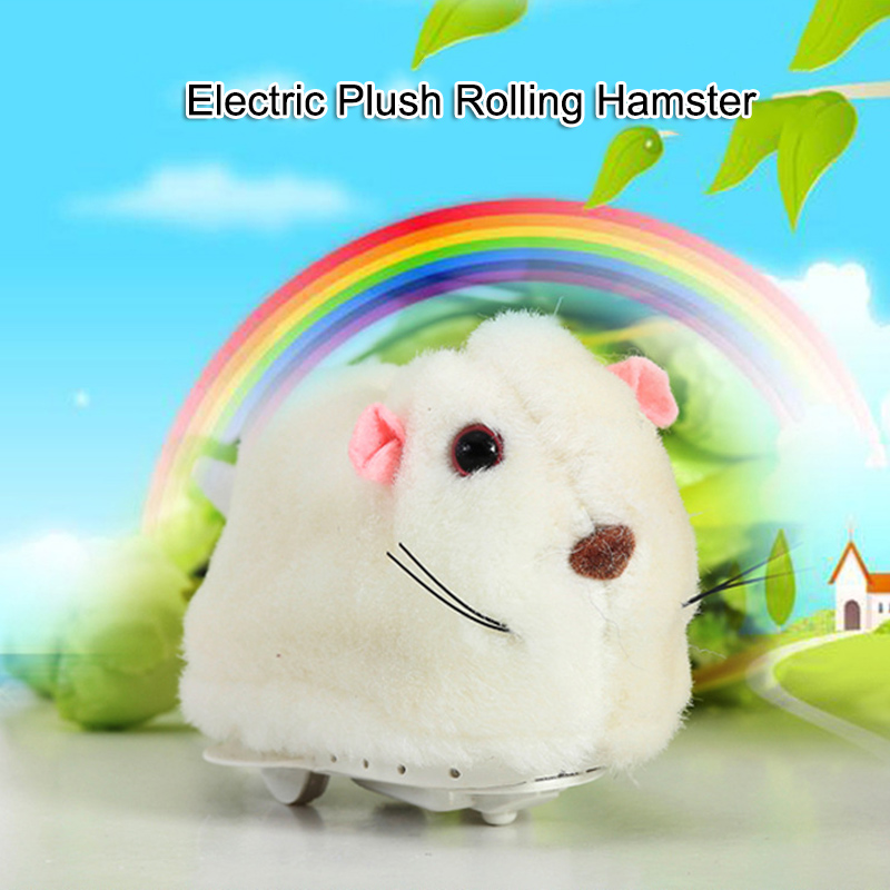 Running Hamster In Ball Electric Plush Rolling Children Educational Toy YH-17
