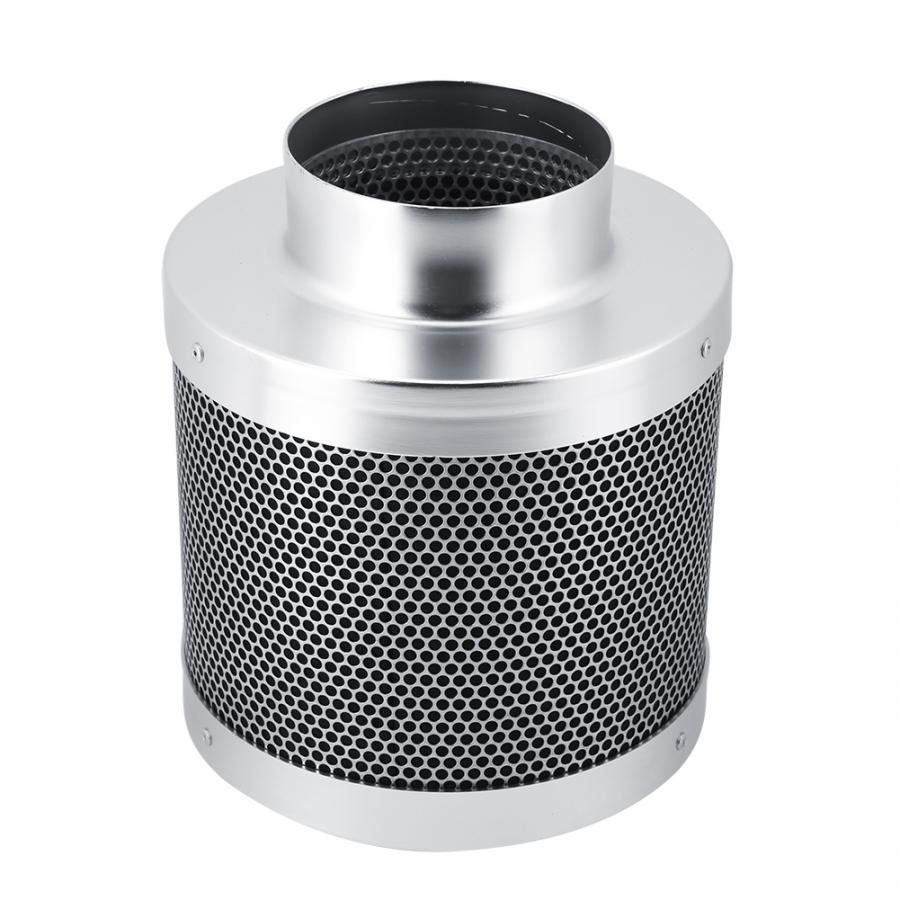 Stainless Steel Carbon Filters 4 Inch Hydroponics Keep Away Smell House Workshop Carbon Filters