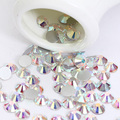1440 Pcs Rhinestone Flat Back Beads DIY Crafts Phone Nail Decal Decor 1.9-2mm