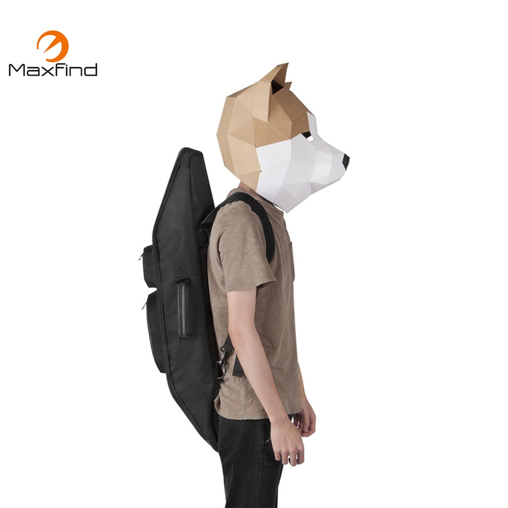 Maxfind Portable Carry Skateboard Bag Outdoor Sport Shoulder Backpack Double Rocker Bags Free Shipping