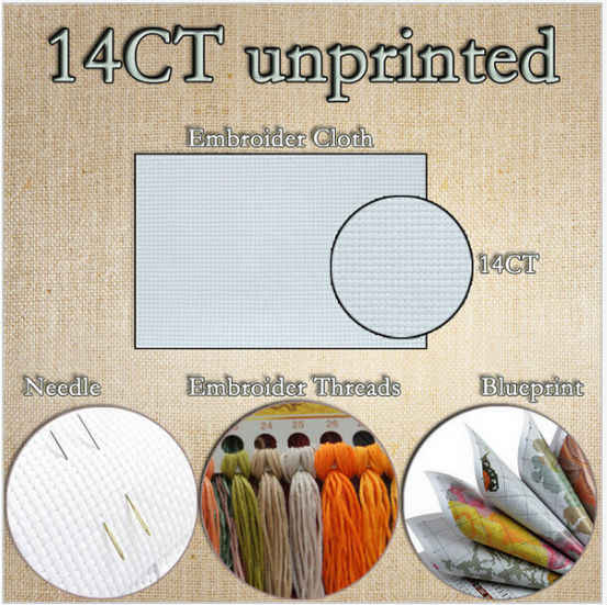 Холст DMC для охоты, рукоделия, набор для шитья крестиком, 11CT, набивная вышивка, ручная работа, рукоделие, настенный Декор для дома