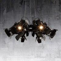 Светодиодный Nordic постмодерн гладить гостиная лампы дизайнерские подвесные светильники Ресторан Освещение приспособление Новинка кафе От