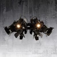 LED Nordic Postmodern Iron living room lamps Designer Hanging lights Restaurant Lighting Fixture Novelty Bar Cafe Pendant Lights