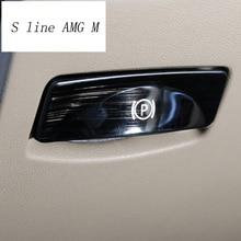 Автомобильный Стайлинг ножной тормоз выключатель Авто украшения наклейки Накладка для Mercedes Benz R класс W251 R300 320 350 400