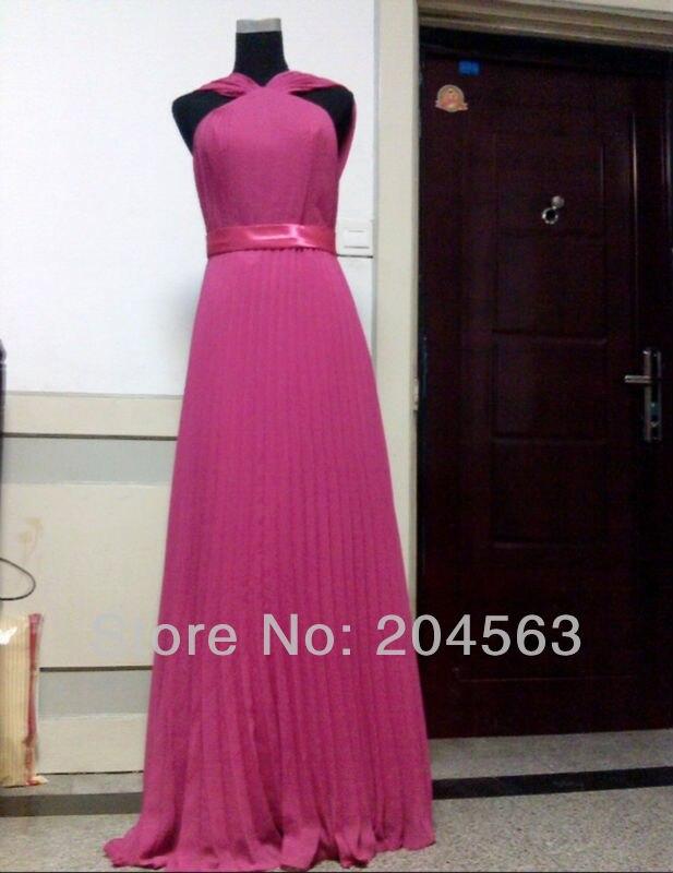 Deal═Free Shipping Chiffon A line Bosom Floor Length Celebrity Dress