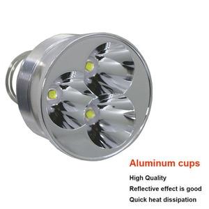 Image 3 - Trustfire 3L2 ไฟฉาย LED 3800 Lumens โคมไฟแบบพกพา 5 โหมดไฟฉายยุทธวิธีการล่าสัตว์ไฟหน้าโดย 18650 แบตเตอรี่ (ไม่รวม)