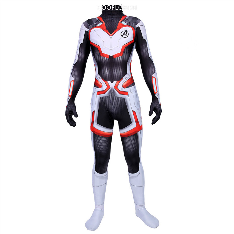 New Movie The Avengers 4 Endgame Quantum War Dress Cosplay Costume Adult Child Jumpsuits Tights Halloween Costume