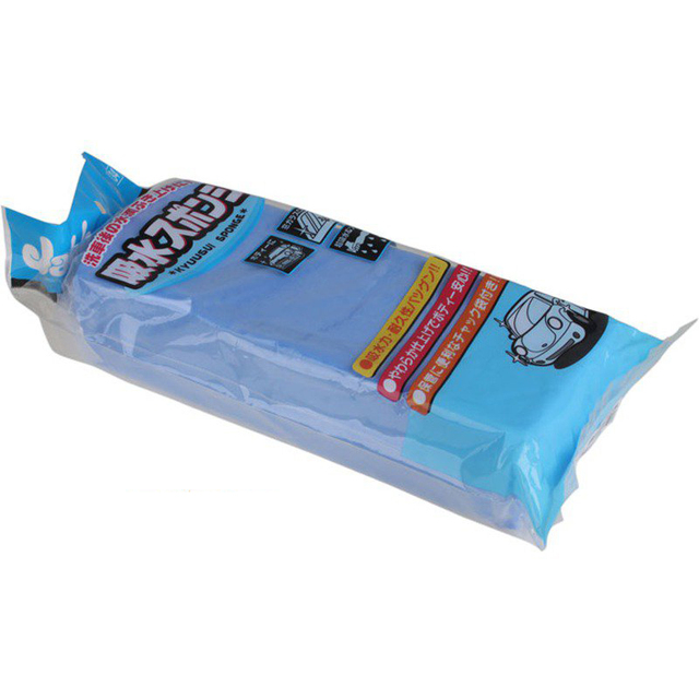 Super absorbent, superior flexibility Car Washing Sponge KYUUSUI Sponge Car body and car interior cleaning