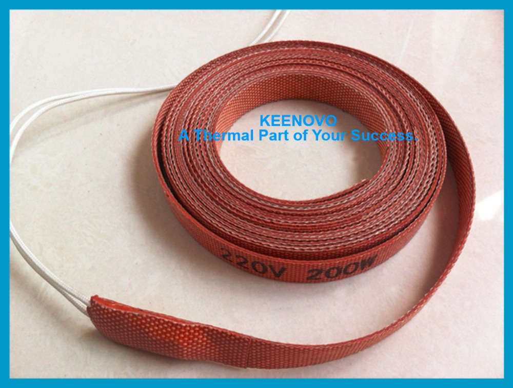 Silicone Pipe Heater, Tube Heating Tape, Heating Belt