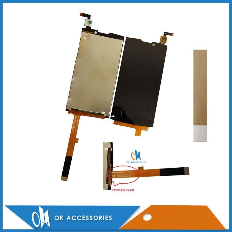 Original Pour Highscreen boost 2 SE 9169 9267 LCD Pour innos D10 Affichage + Écran Tactile Digitizer Assemblée 1 pc/lot avec du Ruban Adhésif