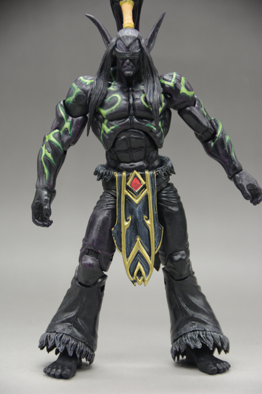 New Arrival WOW Illidan Stormrage Heroes Of The Storm 18cm PVC Action Figure Collection Toy Doll  legion illidan heroes of the storm pvc action figure collectible model toy 7 18cm kt1816