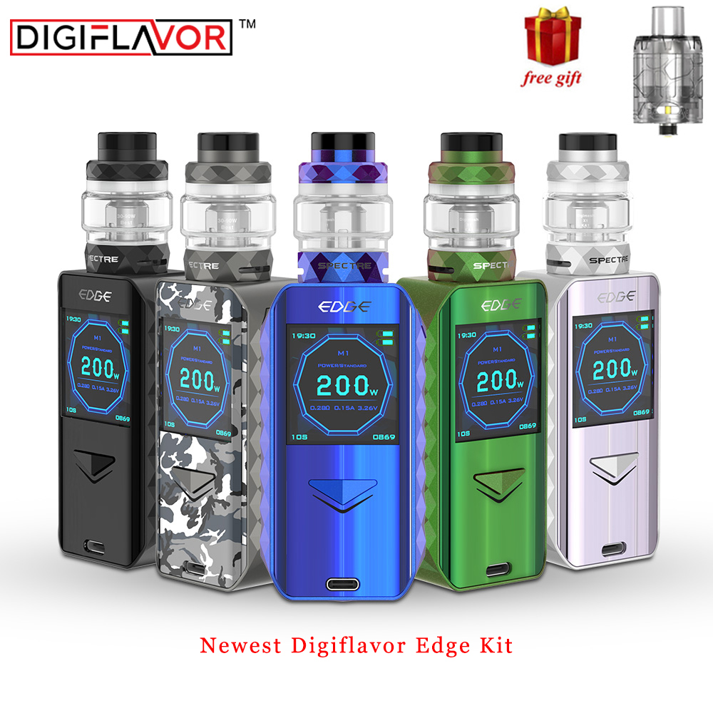 In stock Digiflavor Edge Kit with 5 5ml 4ml Atomizer fast wireless charging advanced AS chipset