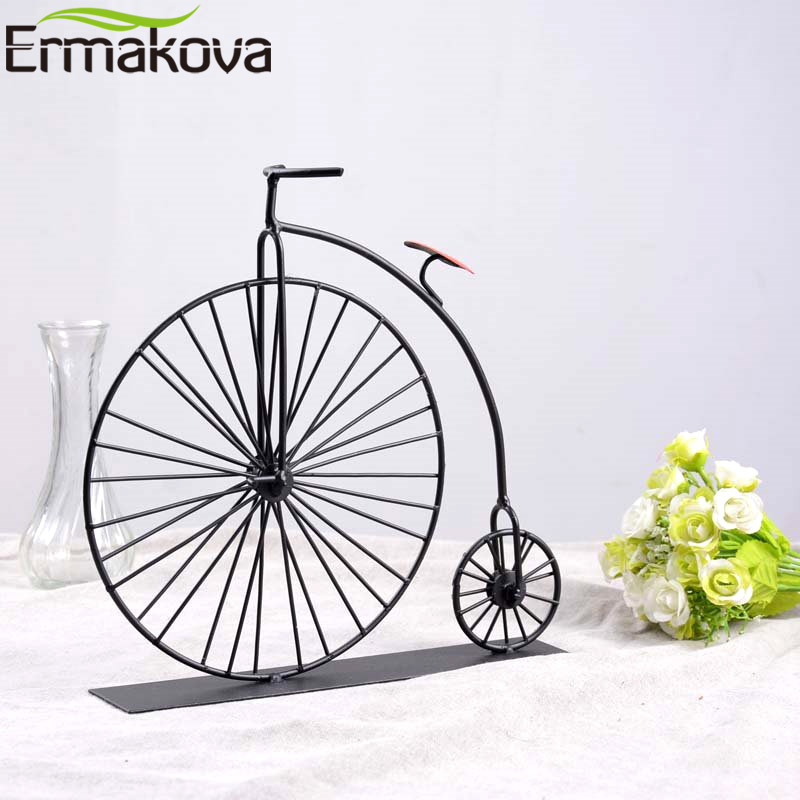 ERMAKOVA Metal Crafts Old Bicycle Model Retro Vintage Old Bike Model Antique Bicycle Club Ornament Home Office Decoration BMT-03ERMAKOVA Metal Crafts Old Bicycle Model Retro Vintage Old Bike Model Antique Bicycle Club Ornament Home Office Decoration BMT-03