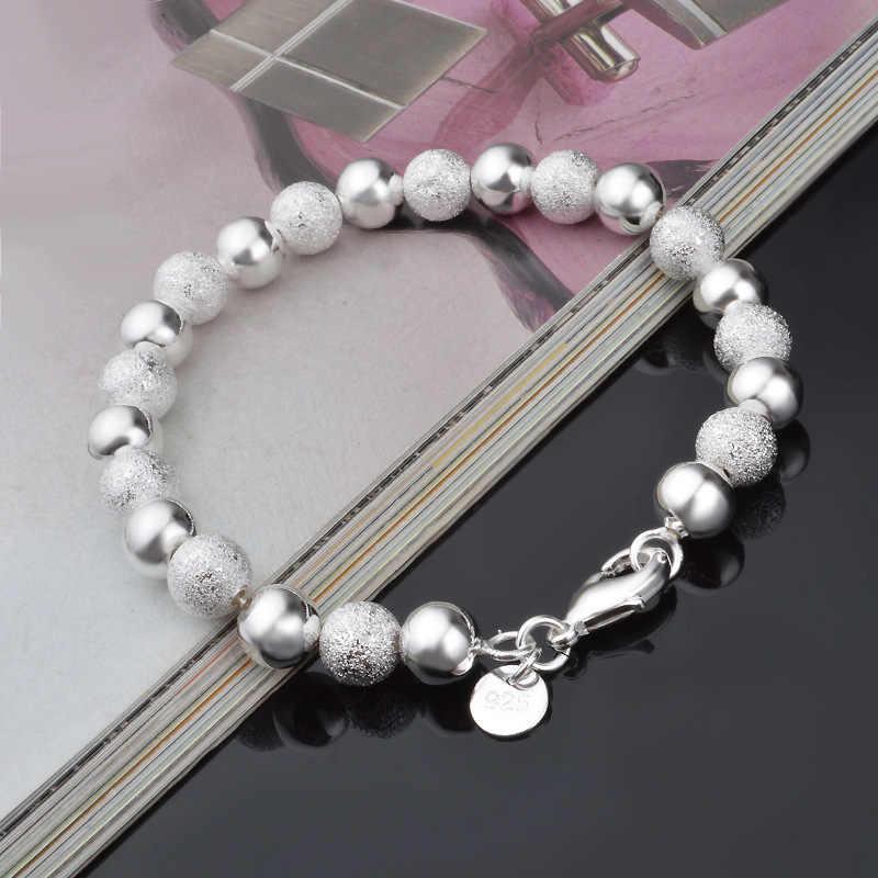 Rinhoo Cute Cat Flower Love Heart Open Bangle Bracelet Simple Elegant Smooth Bead Bracelet Femme Dainty Friendship Jewelry Gifts