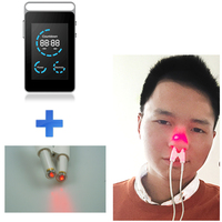ce certified bio laser therapy device ease lighting apparatus treatment chronic rhinitis 650 nm low level laser therapy device
