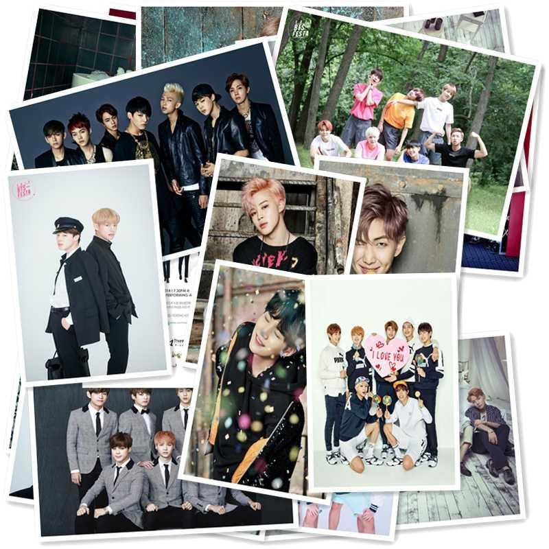 B1-30 # BTS Clássico Séries Banda 2 adesivo 20/pcs Laptop PVC coleção Presente Home Decor Frigorífico Estilo Misto adesivos