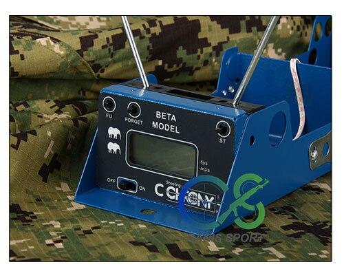 PPT usine vendre directement des mesures tactiques balle vitesse de prise de vue fonction d'enregistrement chronographe chasse testeur de vitesse gs35-0005 - 2