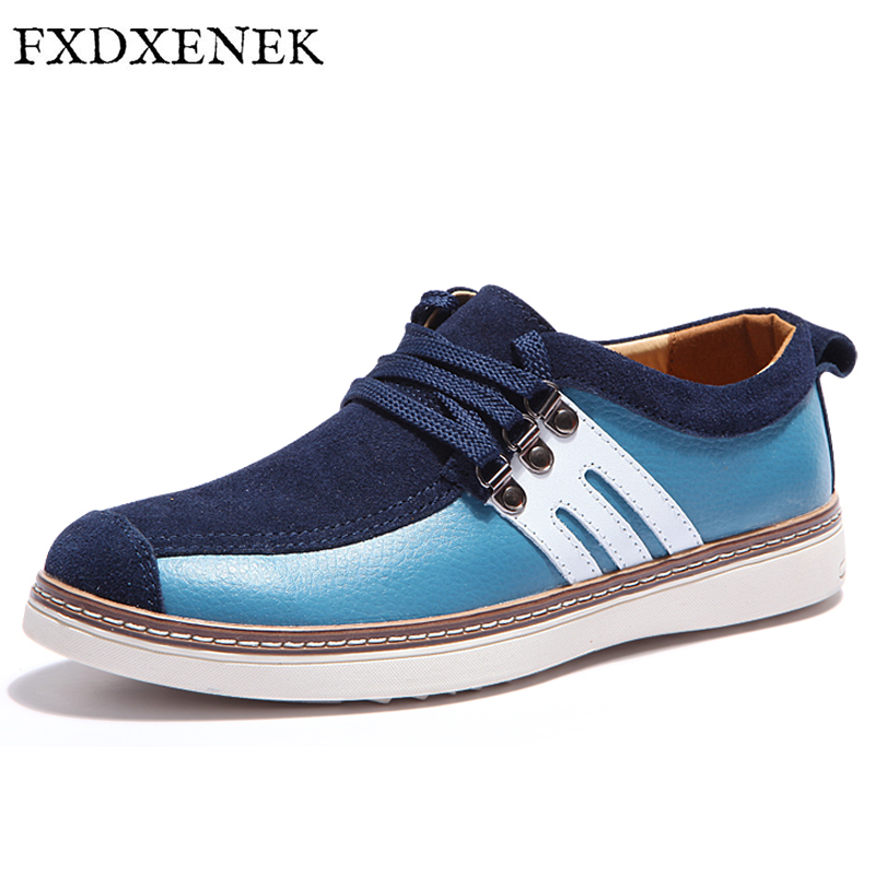 FXDXENEK Autumn/Winter Men Leather Shoes Casual Men Loafers Flats Shoes Moccasins High Quality Men's Real Leather Male Shoes baby clothes autumn winter baby rompers jumpsuit cotton baby clothing next christmas baby costume long sleeve overalls for boys
