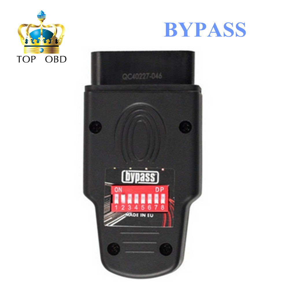 Hot Seling!! Immo Bypass Device BYPASS ECU Unlock Immobilizer for VW ECU Unlock Immobilizer Tool Key Programmer Free Shipping