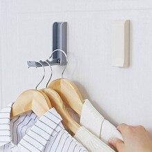 Складная подвесная полка самоклеющиеся настенные крючки держатели Крюк стойка бесследная дверная вешалка крючки для домашней организации и хранения