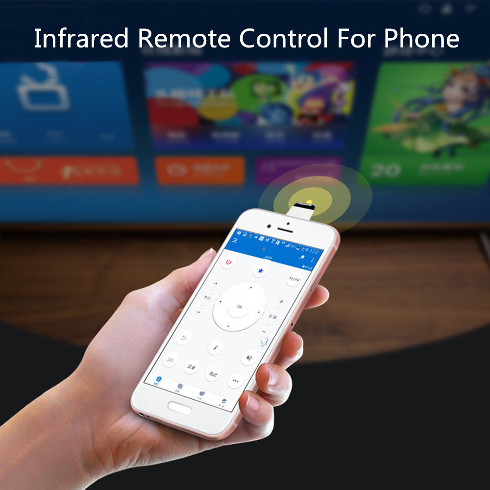 Universal Infrared Remote Control For Android Type C Interface IR Wireless Smart App Control For TV Air Conditioner Projectors