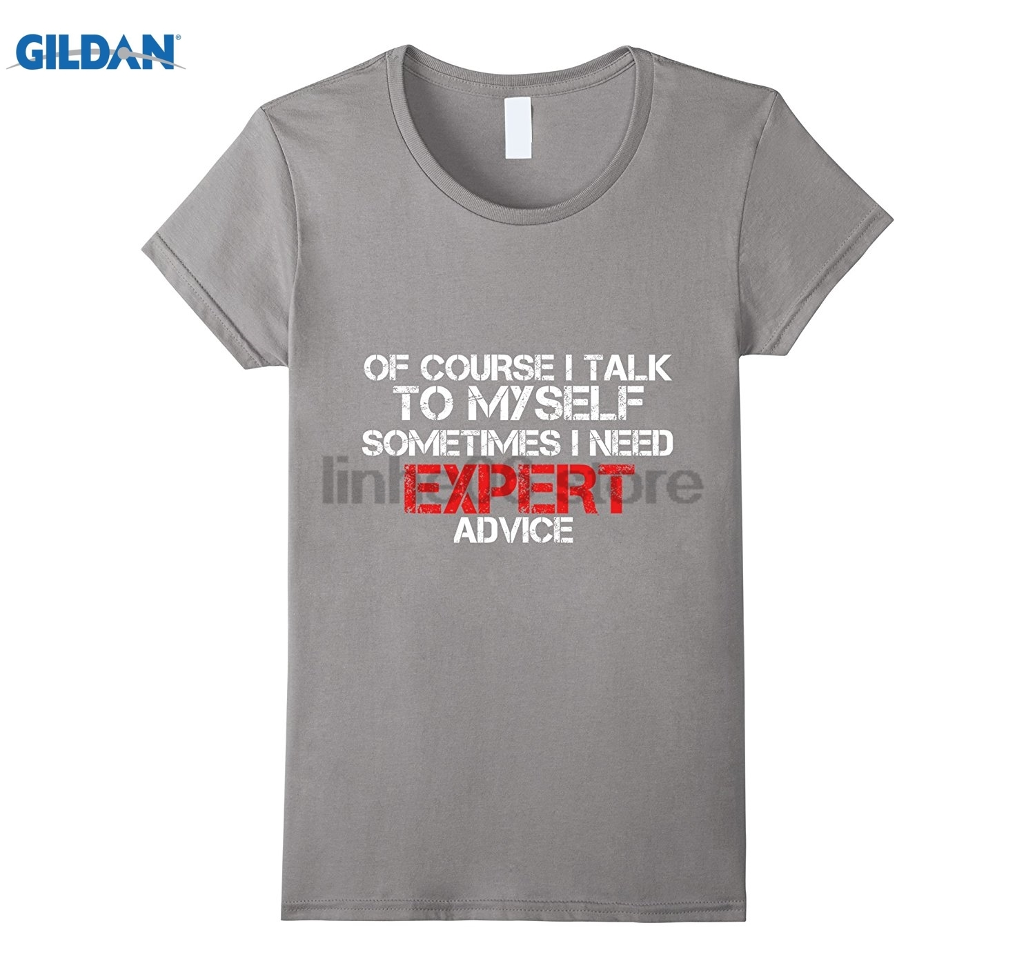 GILDAN I Talk To Myself, Sometimes I Need EXPERT Advice Funny Shirt Video game quality e ...