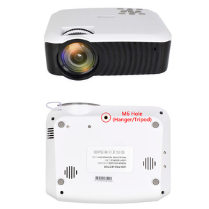 Image 4 - ALSTON T23 series LED Projector Portable Video HD Mini Beamer HDMI VGA Home Theater Optional T22 Projector