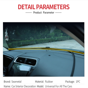 Image 2 - กันเสียงซีลยาง Dashboard ซีลสำหรับ LADA Priora Kalina Granta Vesta X   Ray สำหรับ Kia Rio Solaris สำหรับ Ford Cruze