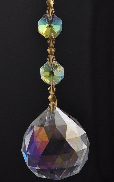 5pcs 30x60mm ab color chandelier ball crystal prisms crafts light 5pcs 30x60mm ab color chandelier ball crystal prisms crafts light accessories hanging pendant wedding home decoration aloadofball Gallery
