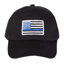 072bc1473ae 5 Colors American Flag Thin Blue Climbing cap Low Profile Tactical Hats For  Police Law Enforcement