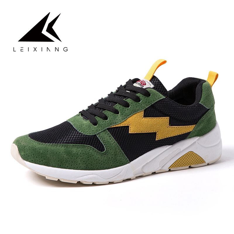 Latest Men 2018 Outdoor Running Shoes Sport Trainers Shoes New Men Sneakers Athletic Man Sports Flat Run Walking Jogging Trendy