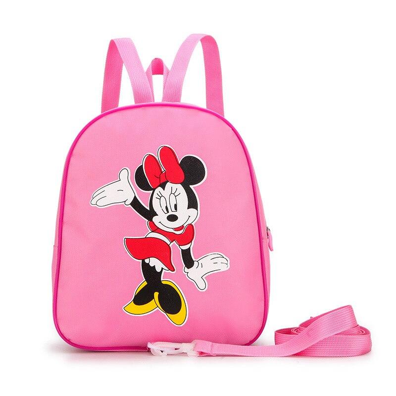 New Mickey Minnie Shape Girls Boys Backpack Kids School Bags Cartoon Children Cute Kindergarten Nursery Book Bag Gift