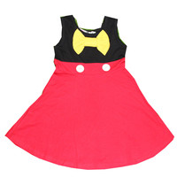 Halloween Girls Cinderella Dresses Mickey Minnie Snow White Princess Dress Rapunzel Aurora Kids Party Christmas Costume