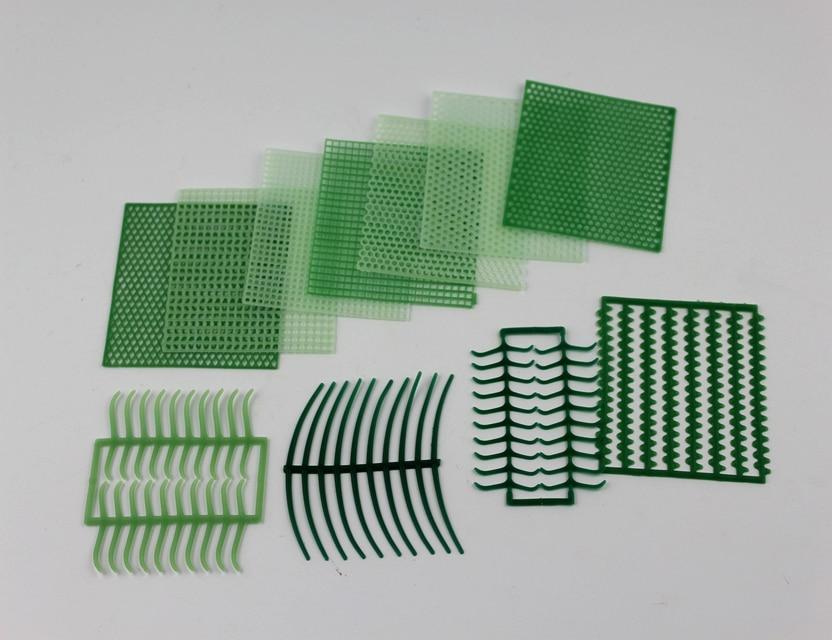 Pattern Wax Grid Wax Net Waxes For Jewelry Mould Clasp Wax 10 Pcs