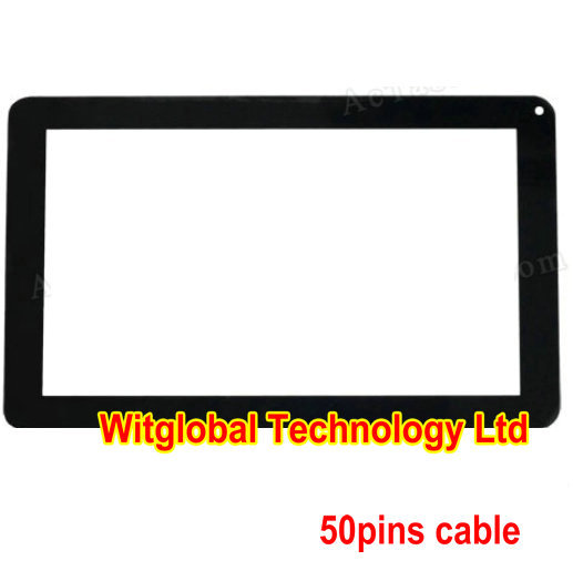 New for 9 iGET SCHOOL N9A Tablet 50Pins Capacitive touch screen panel Digitizer Glass Sensor Replacement Free Shipping witblue new touch screen for 9 7 archos 97 carbon tablet touch panel digitizer glass sensor replacement free shipping