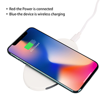 Hot sale QI Standard For iphoneX 8 Mobile Phone Fast Wireless Charger Multi Three Coil Wireless Charger Available for Samsung S8 цена в Москве и Питере