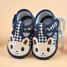 ARLONEET Baby Shoes Girl Boy Soft Canvas Sneaker Soft Sole Crib comfortable Waliking Shoes as the gift to baby(China)